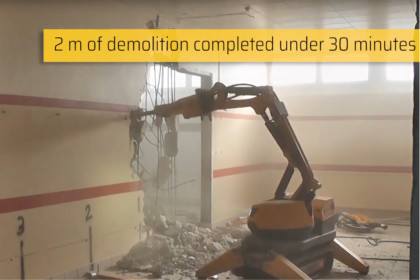 Brokk 70 takes demolition to the next level