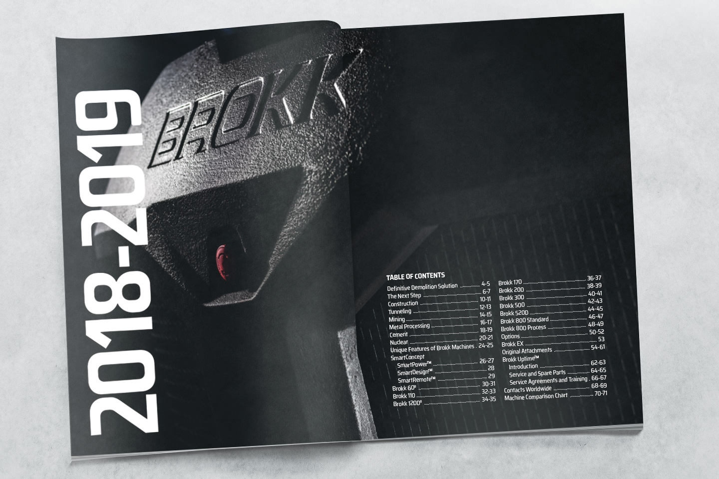 Order Catalogue - Brokk Australia