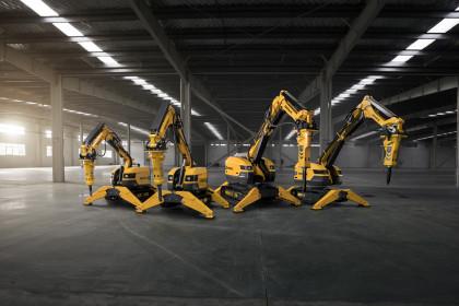 Brokk stellt 4 neue Machinen vor!