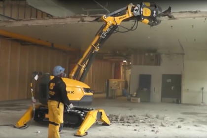 Brokk 280 and the Darda crusher CC520 fit well together!