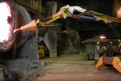 Brokk 800 SB452 Pfannenöffnung Stahl Deutschland