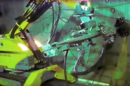 Alcuni robot Brokk coinvolti nell'enorme progetto della Metro di Doha in Qatar!
