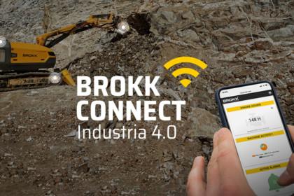 BROKK ANNUNCIA BROKK CONNECT CON INDUSTRIA 4.0
