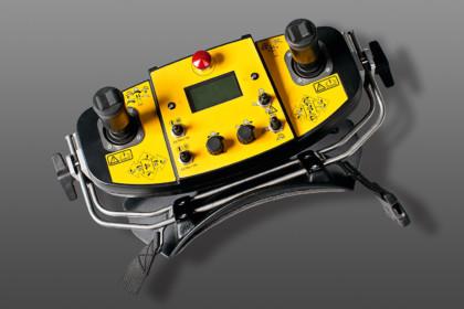 Brokk unique control system