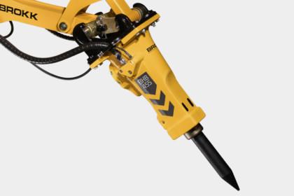 Brokk introducerar en ny serie hydraulhammare