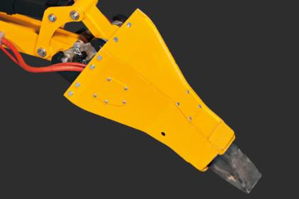 Värmeskyddad hammare
