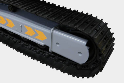 Larvband stål