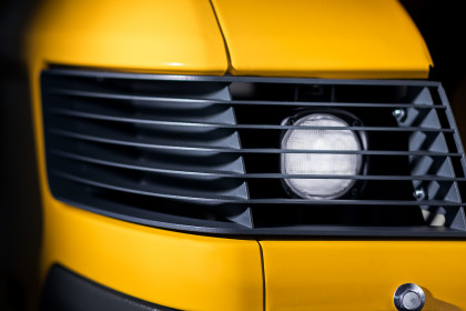 Reinforced headlight protection