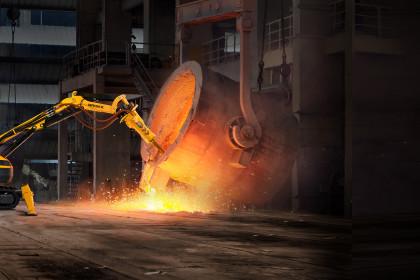 Metal Process - Brokk 500 with BHB705