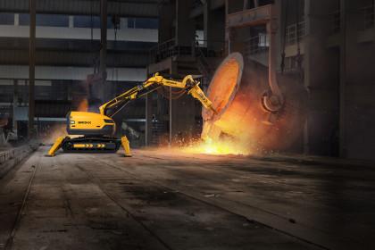 Brokk 500 Metal Processing