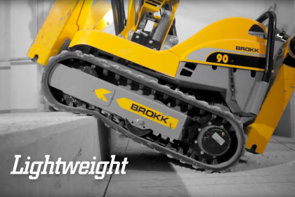 Brokk – Original Demolition Power – In the Construction Industry