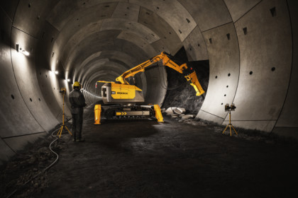 Introducing Brokk 900 – the worlds most powerful demolition robot