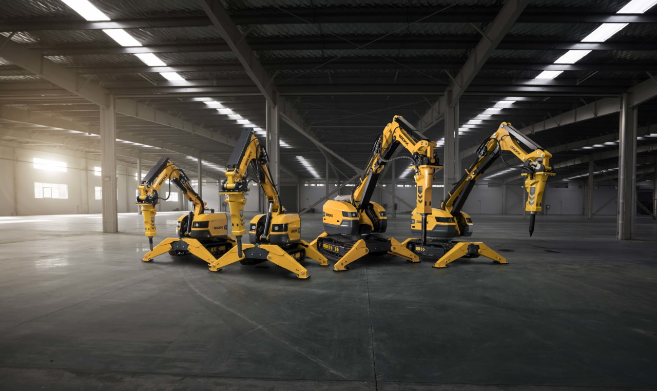 Brokk Highlights SmartConcept™ Technology on  Next Generation Demolition Machines
