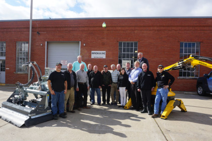Brokk Inc. Expands: Adding New Service and Training Center and Fleet Managers
