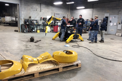 Brokk Offers In-Depth Training Program  to Maximize Jobsite Safety and Productivity