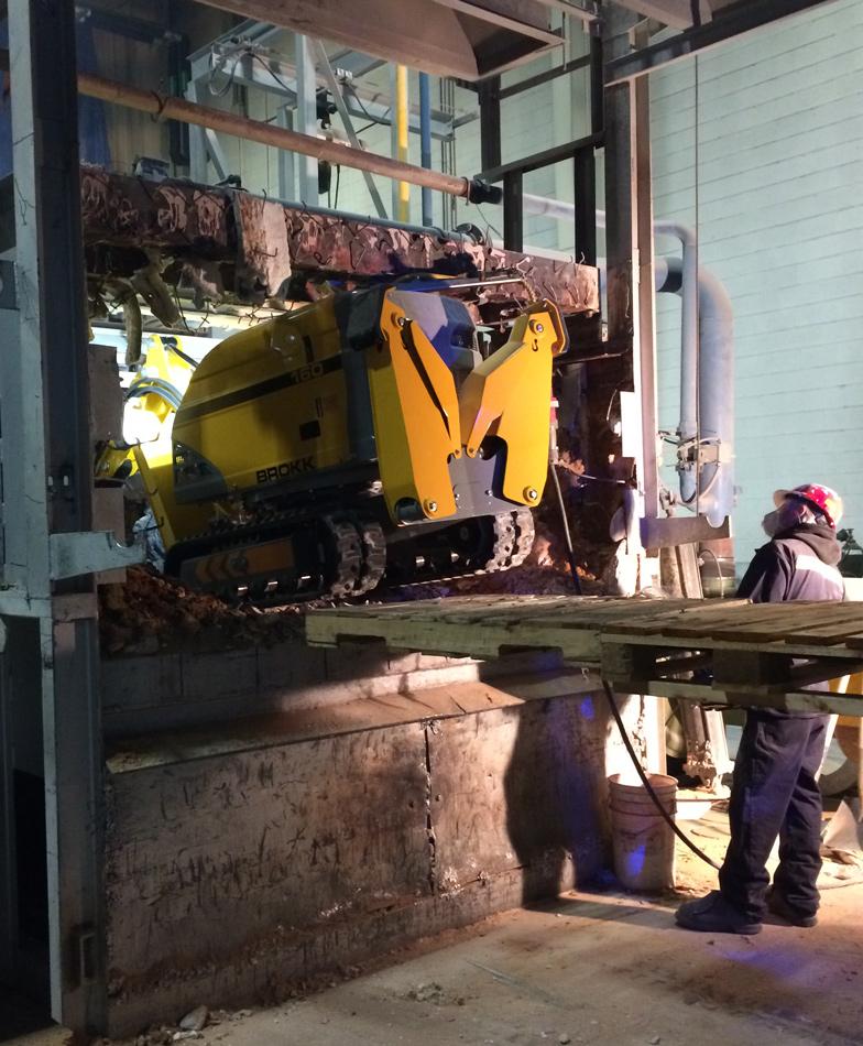 Add Robotic Demolition. Subtract Workers' Comp Costs.