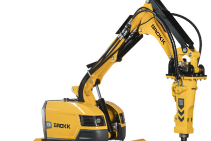 Brokk 200 Offers Increased Safety, Versatility and Productivity in Mining Operations