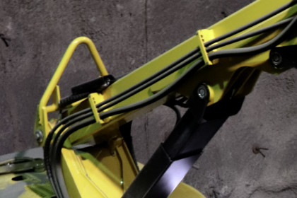 Brokk demolition robot Single lifting point